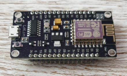 NodeMCU ESP8266 oppsett i Arduino IDE